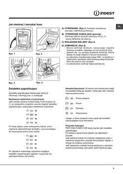 INDESIT WITL 125 EU Instrukcja Obslugi