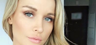 Joanna Krupa uroczo na selfie