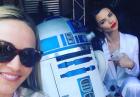 Adriana Lima u boku z robotem