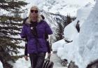 Alena Shishkova w zimowej aurze
