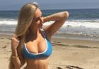 Amanda Lee atrakcyjnie w bikini i bieliźnie