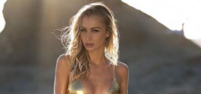 Dajana Gudic błyszczy w złotym bikini