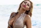 Francesca Larrain seksownie w zółtej bieliźnie
