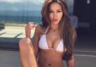 Galinka Mirgaeva w białym bikini i nie tylko