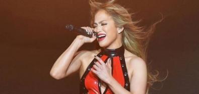 Jennifer Lopez uwodziła na scenie