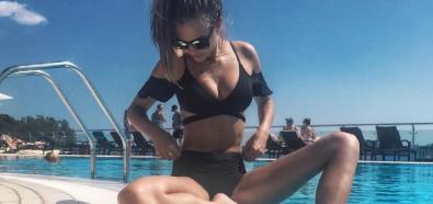 Josephine Skriver na słonecznej Chorwacji