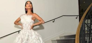 Nicole Scherzinger w sukni ślubnej