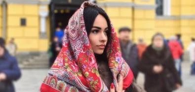 Oksana Ovseenko stylowo na mieście
