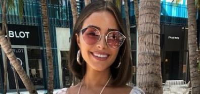 Olivia Culpo w letniej kwiecistej stylizacji