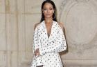 Rihanna w eleganckiej białej sukience