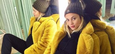 Rose Bertram w zimowej stylizacji