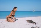Silvia Caruso zrzuciła z siebie bikini