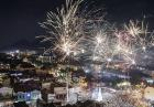 Fajerwerki na przywitanie 2018 roku