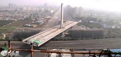 Most na obrotowym filarze