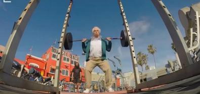 Dziadek siłacz