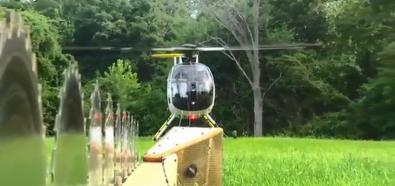 Przycnka drzew helikopterem