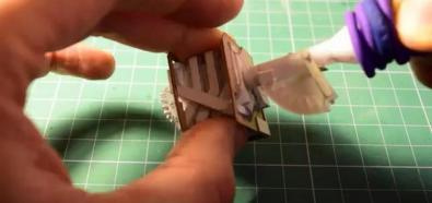 Papierowy silnik V8