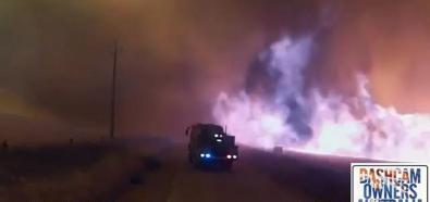 Zderzenie wozów strażackich