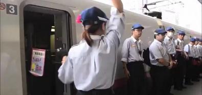 Sprzątanie pociągu - poziom Japonia