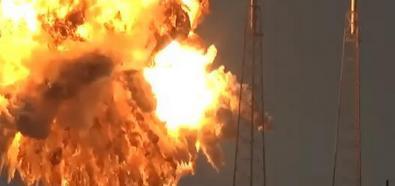 Explozja rakiety SpaceX