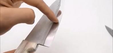 Nóż z folii aluminiowej