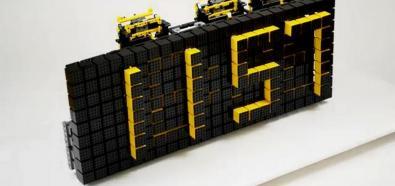 Cyfrowy zegar LEGO