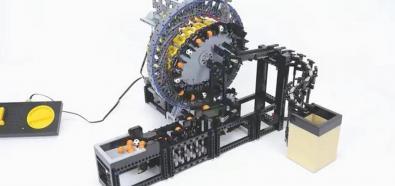 Przekładnia falowa z klocków LEGO