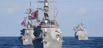 Manewry flot Japonii, Korei Południowej i USA