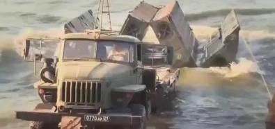Rosyjska jednostka inżynieryjna w akcji