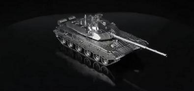 Metalowy model czołgu