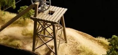 Diorama kopalni