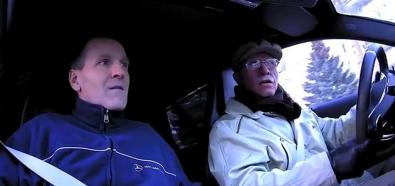 Petter Solberg jako staruszek