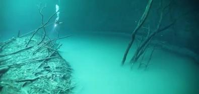 Nurkowanie w studni krasowej