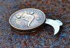 Nóż w monecie