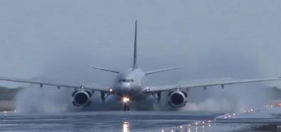Lądowanie z pomocą ciągu wstecznego