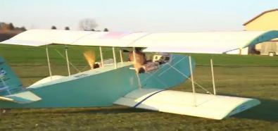 Elektryczny samolot modelarza