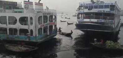 Szalony port w Bangladeszu