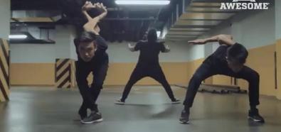 Niezwykle giętcy tancerze