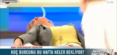 Omdlenia w TV