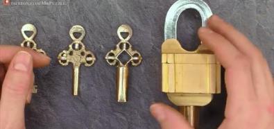Kłódka na trzy klucze