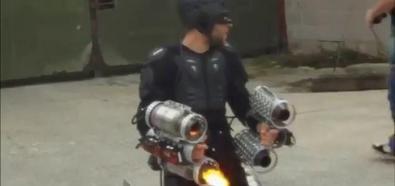 Latający Iron Man