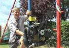 Huśtawka Colina Furze z silnikiem