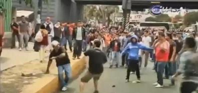 Demonstranci vs. kierowcy