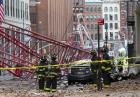Katastrofa żurawia w Nowym Jorku