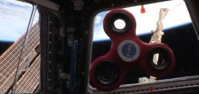 Fidget spinner w kosmosie