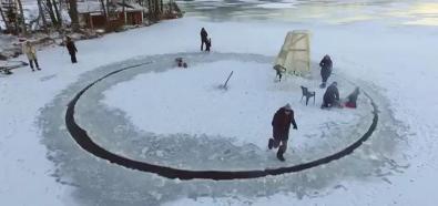 Odjechana lodowa karuzela