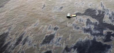 Skutki wycieku ropy z odwiertu Chevronu