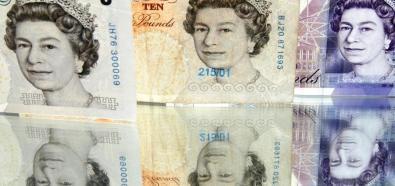 Funt brytyjski pod silną presją traci na wartości