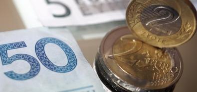 Wyraźne umocnienie euro i? załamanie cen złota