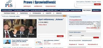 Strona www PiS